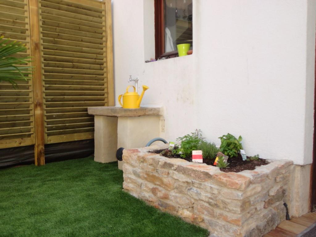 Maconnerie, aménagement paysager et création d'espaces verts et jardins, C'DECO paysagiste