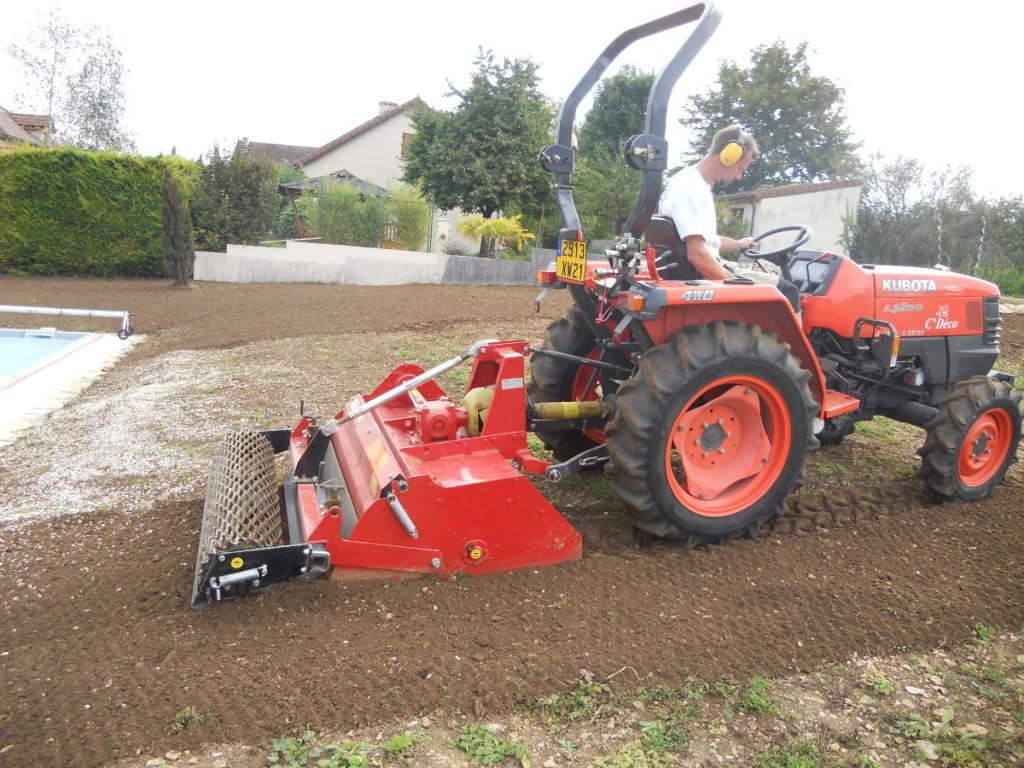 Plantation et gazons en Côte d'Or - C'DECO paysagiste Dijon